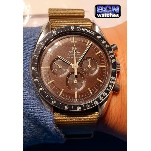 Omega Speedmaster Professional Moonwatch tropical brown dial